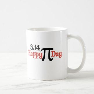 Día feliz 3 14 del pi - 14 de marzo tazas