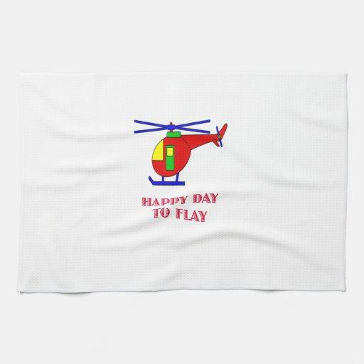 Día feliz a volar toallas
