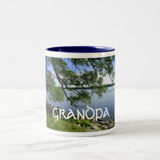 """Día feliz """"abuelo """" de los abuelos taza"""