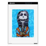 Día feliz colorido del esqueleto muerto skins para iPad