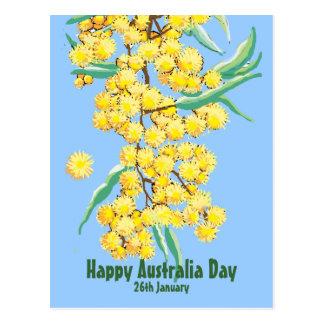 Día feliz de Australia Tarjeta Postal