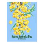 Día feliz de Australia Tarjetas Postales