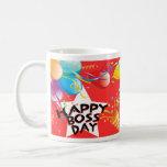Día feliz de Boss Tazas