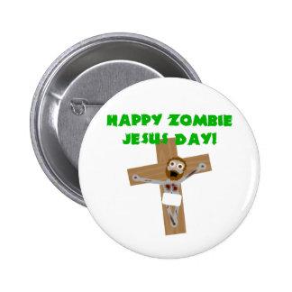 Día feliz de Jesús del zombi Pins