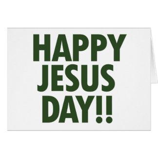 Día feliz de Jesús Felicitaciones