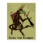 ¡Día feliz de Krampus! Postales