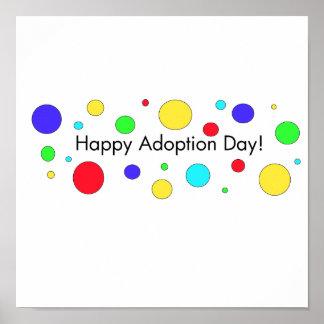 ¡Día feliz de la adopción! Poster
