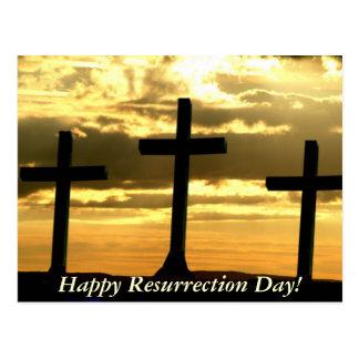 ¡Día feliz de la resurrección! Postales