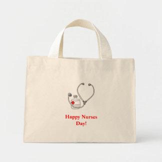 ¡Día feliz de las enfermeras - bolso Bolsas