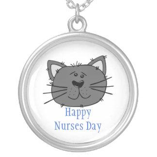 Día feliz de las enfermeras para la enfermera colgante redondo