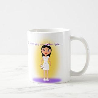 Día feliz de las enfermeras para la enfermera de a tazas
