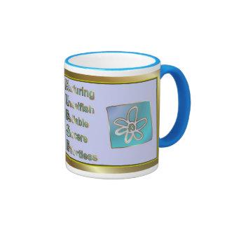 Día feliz de las enfermeras para la enfermera que  taza de café