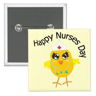 Día feliz de las enfermeras pins