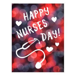día feliz de las enfermeras postales