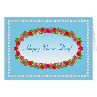¡Día feliz de las enfermeras Felicitación