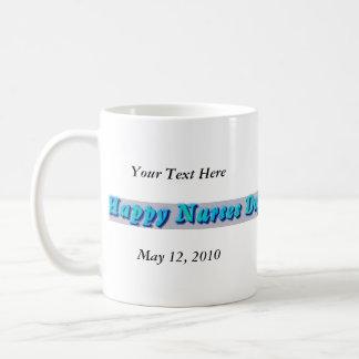 Día feliz de las enfermeras tazas de café