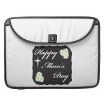 Día feliz de las mamáes fundas para macbooks