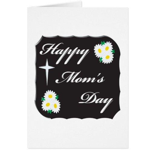 Día feliz de las mamáes tarjetón