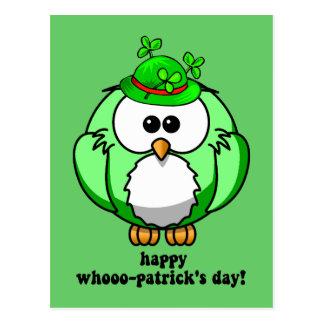 día feliz de los patricks del whooo postal