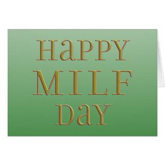 Día feliz de MILF Felicitacion