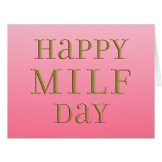 Día feliz de MILF Felicitaciones