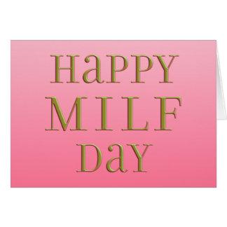 Día feliz de MILF Tarjeta