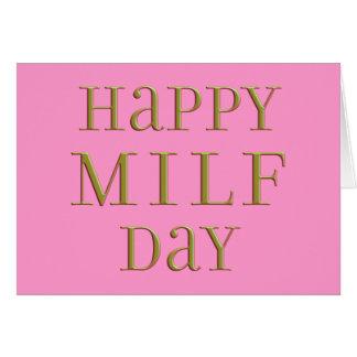 Día feliz de MILF Tarjetas