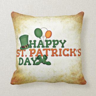 Día feliz de Patricks del santo Cojín