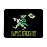 Día feliz de Patricks del santo Imán