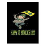 Día feliz de Patricks del santo Postal