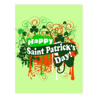 Día feliz de Patricks del santo Postales
