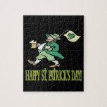 Día feliz de Patricks del santo Puzzles Con Fotos