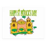 Día feliz de Patricks del santo Tarjeta Postal