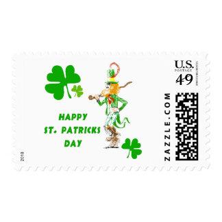 Día feliz de San Patricio Timbres Postales