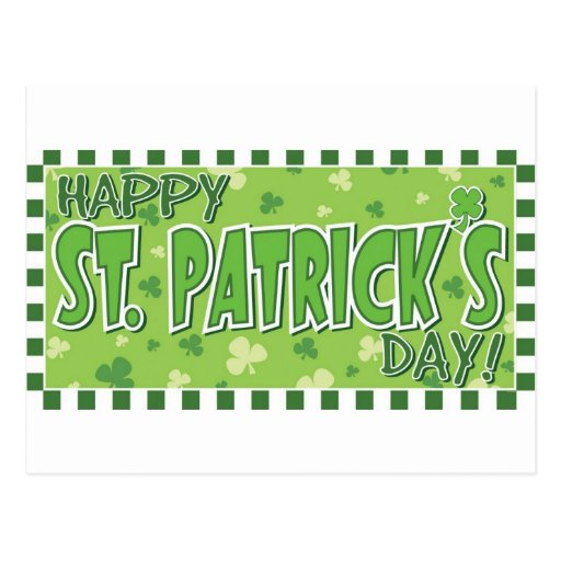 ¡Día feliz de St Patrick! Postales