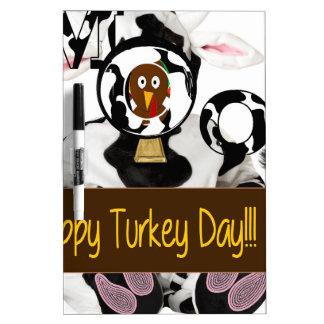 Día feliz de Turquía Pizarras Blancas