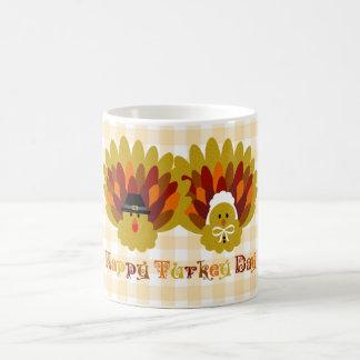 Día feliz de Turquía Tazas De Café