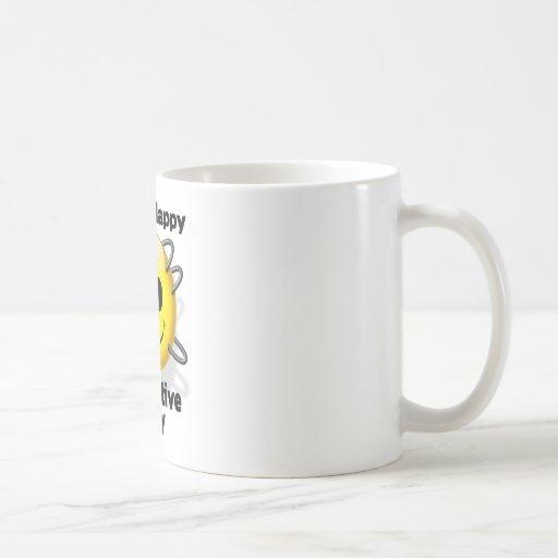 día feliz del borg taza de café