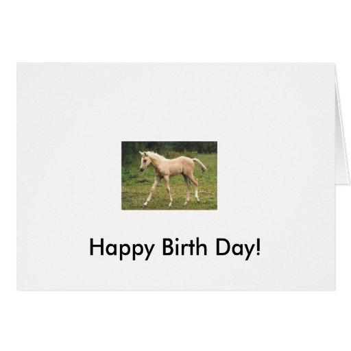 ¡Día feliz del nacimiento! Tarjeta De Felicitación