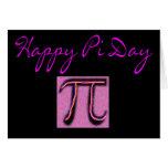 Día feliz del pi--Artsy Felicitacion