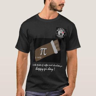 Día feliz del pi - camisa 1175 del club del café