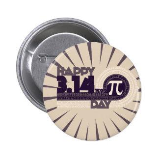 Día feliz del pi pin