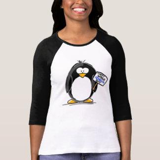 Día feliz del pingüino del mundo camisetas