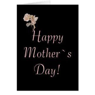 ¡Día feliz del ` s de la madre! Tarjeta Pequeña