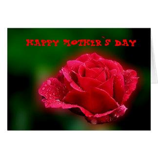 Día feliz del ` s de la madre tarjeta