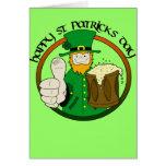 Día feliz del St. Patricks Felicitación