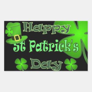 Día feliz del St Patricks Rectangular Altavoz