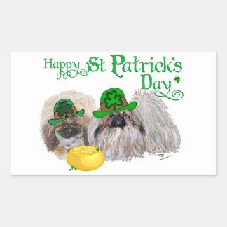 Día feliz del St Patricks Rectangular Altavoces