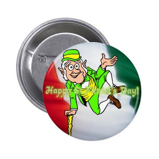 Día feliz del St. Patricks Pins