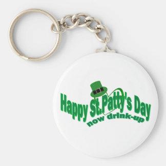 Día feliz del ST Pattys Llaveros